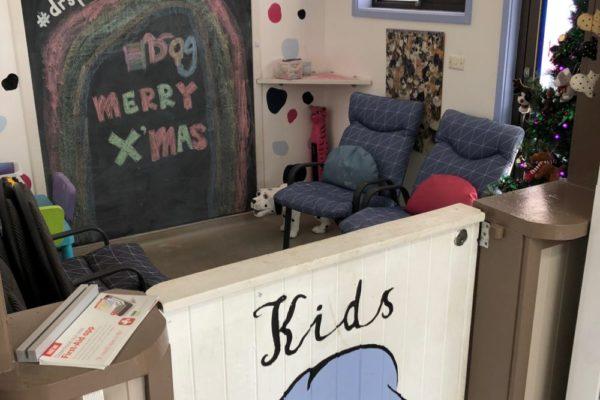 kids corner at Dr Spot