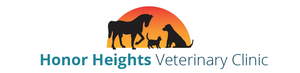 Logo for Honor Heights Veterinary Clinic Muskogee, Oklahoma