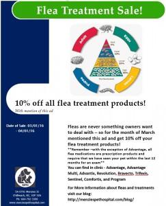 Flea Treatment Sale 2016