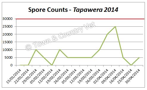 spore-counts-tapawera-2014