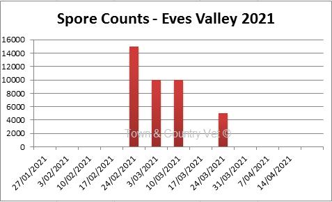 SporeCount EvesValley24MAR21